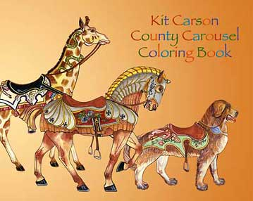 Carousel Coloring Book Valerie Graves