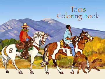 Taos Coloring Book Valerie Graves