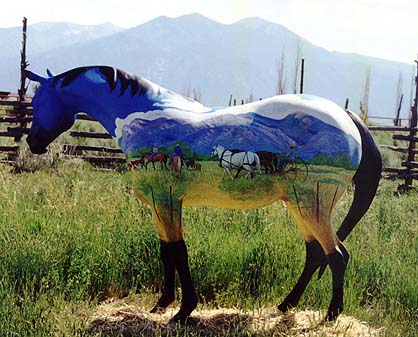 meeting real horses taos new mexico valerie graves painted pony